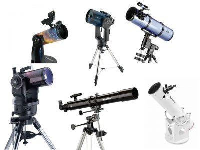 انوااع تلسکوپ های موجود در بازار ایران