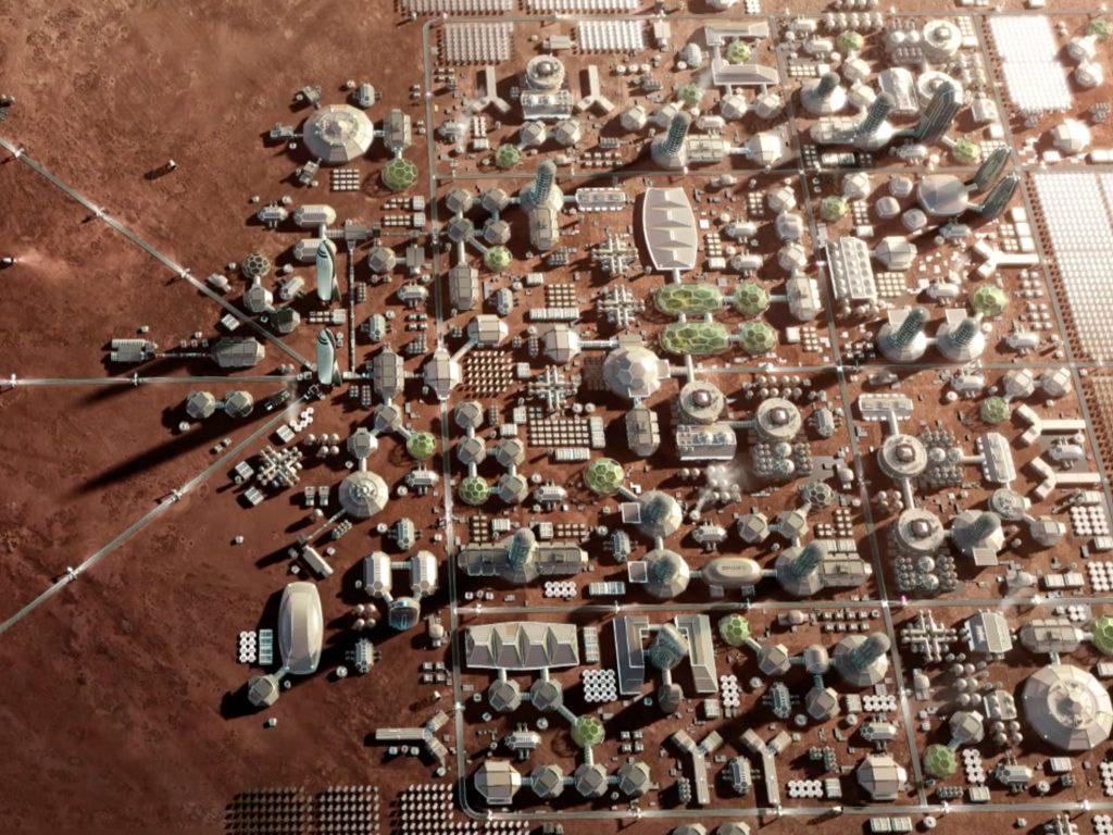 شهرک سازی در مریخ