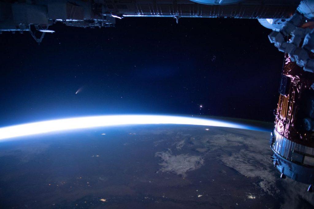 نیووایز از دید ایستگاه فضایی بین المللی