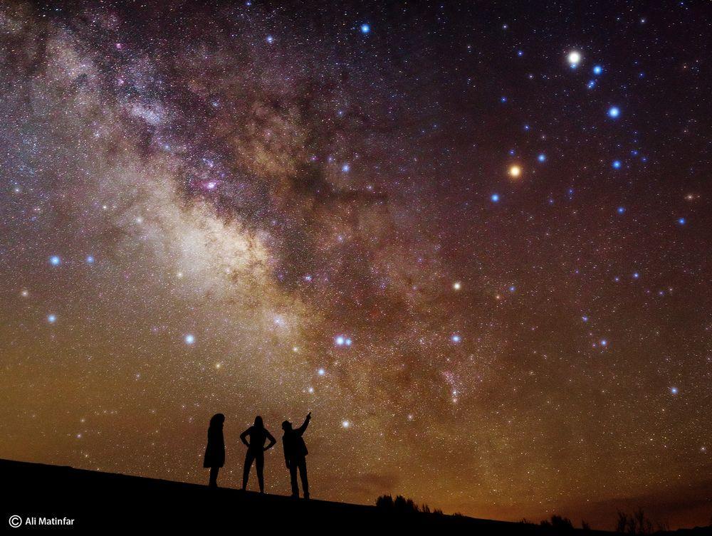 آسمان شب از علی متین فر