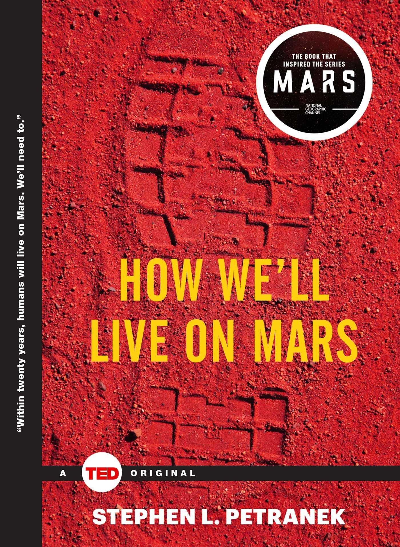 کتاب how we'll live on mars