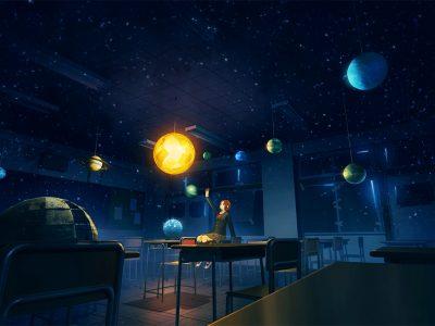 astronomy teacher